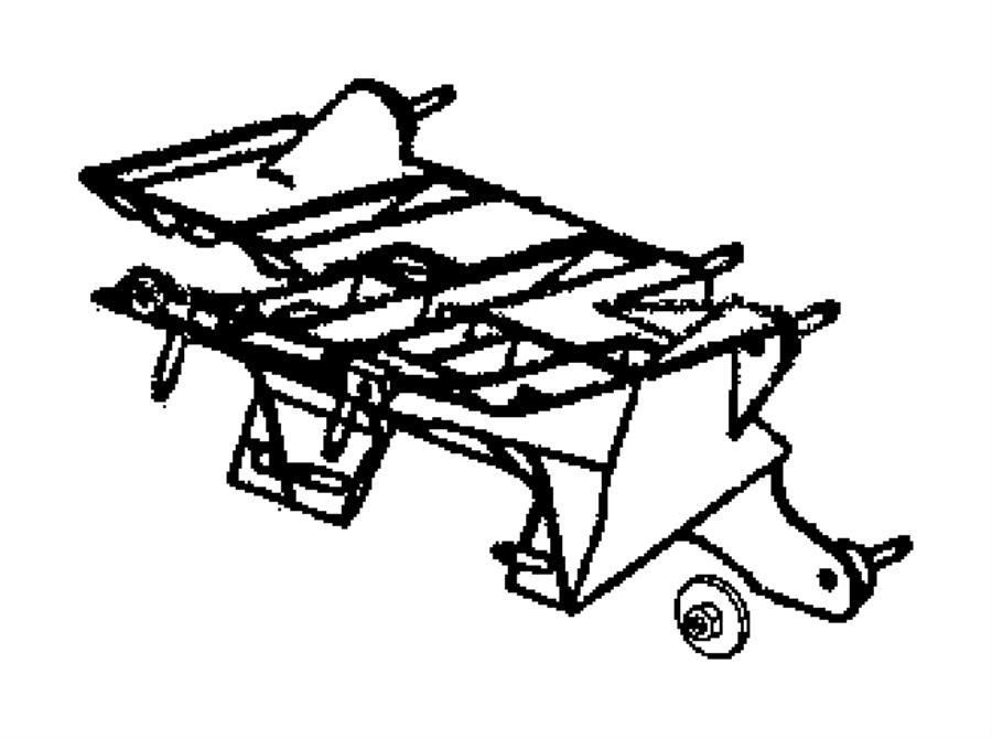 Dodge Neon Nut. Brake, brake pedal bracket, clutch pedal