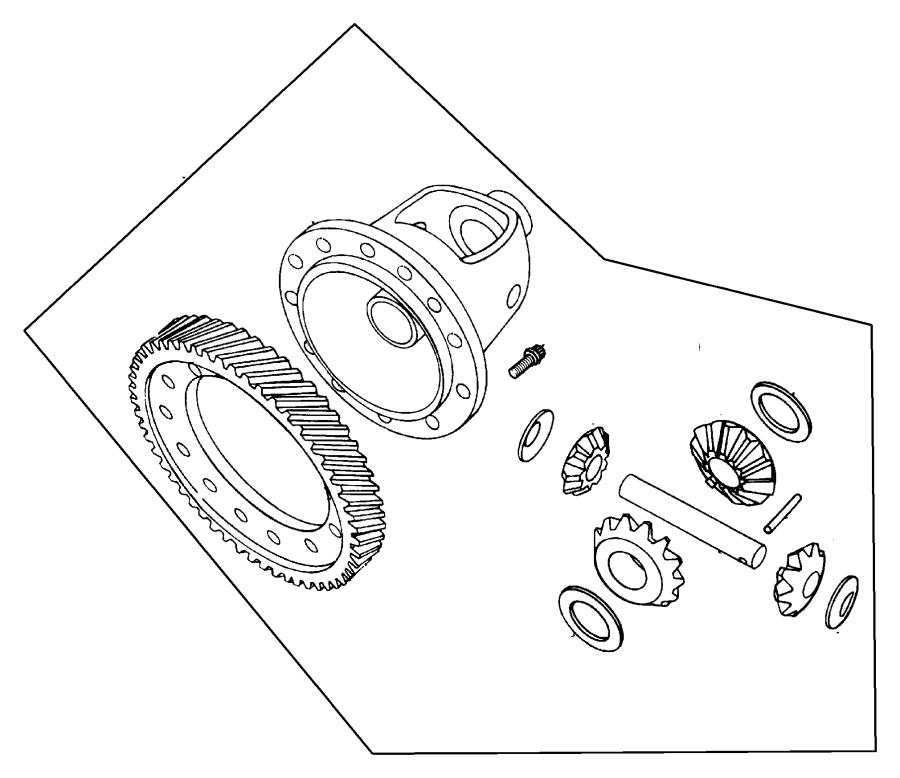 Chrysler Pt Cruiser Shaft. Pinion gear, transmission