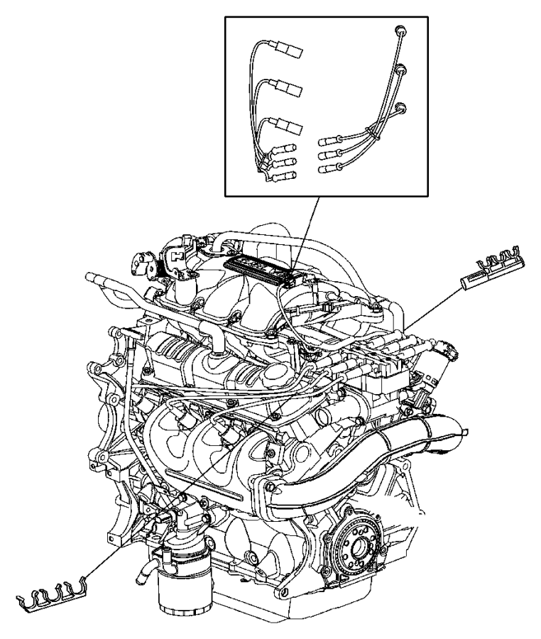 2007 Jeep Wrangler Coil. Ignition. Wires, plugscablescoil