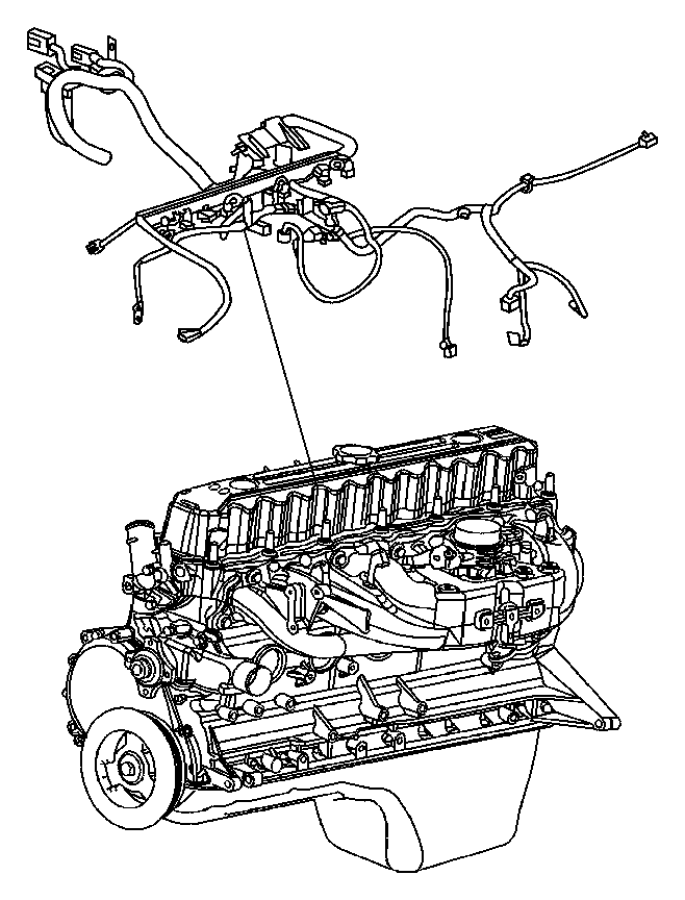Wrangler Wiring--Engine & Related Parts.