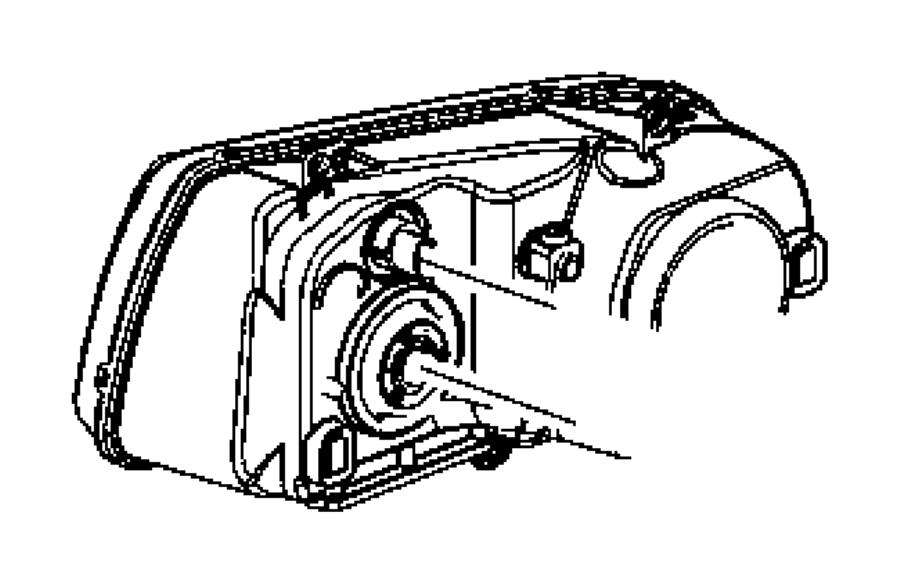 2005 Dodge Magnum SXT 3.5L V6 AWD Socket. Used for: park
