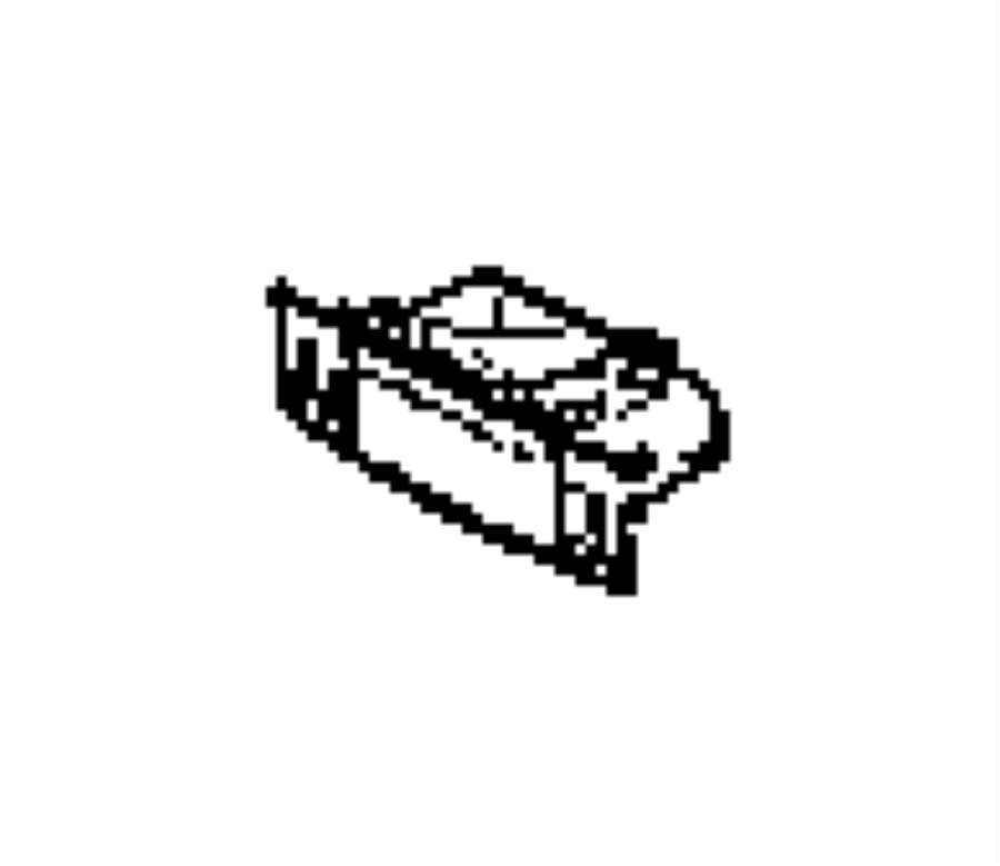Dodge Charger Ash receiver. [sxt appearance group]. Trim