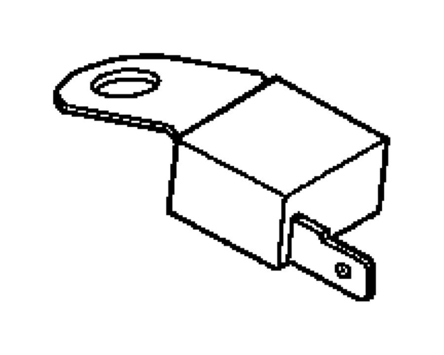 Dodge Neon Capacitor. Ignition, radio noise suppression