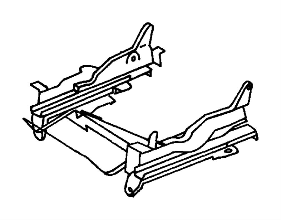 Chrysler Sebring Shield. Seat cushion. Left. Manual. [dv