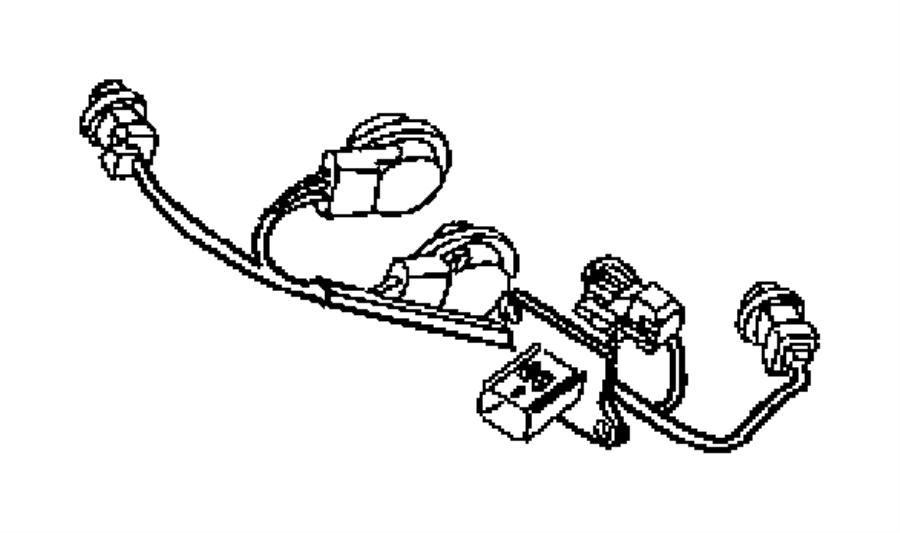 Chrysler Sebring Wiring. Tail lamp. Left, right, right or