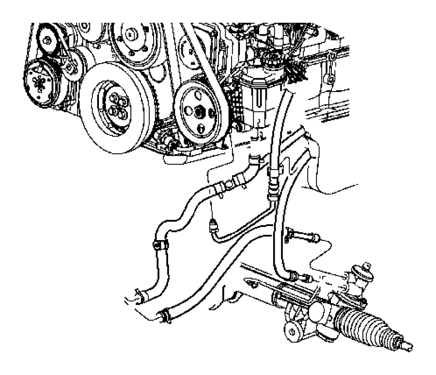 Dodge Ram 2500 Power Steering Diagram