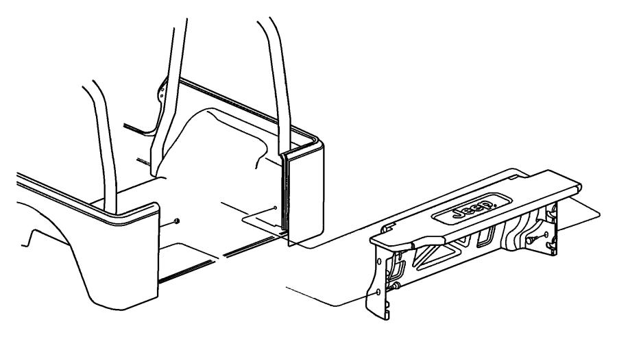 Jeep Wrangler Panel. Add a trunk. [dv]. Trim: [all trim