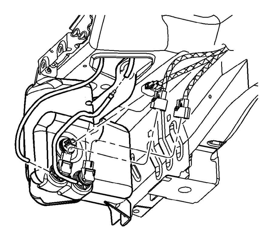 Chrysler Pacifica Engine Compartment