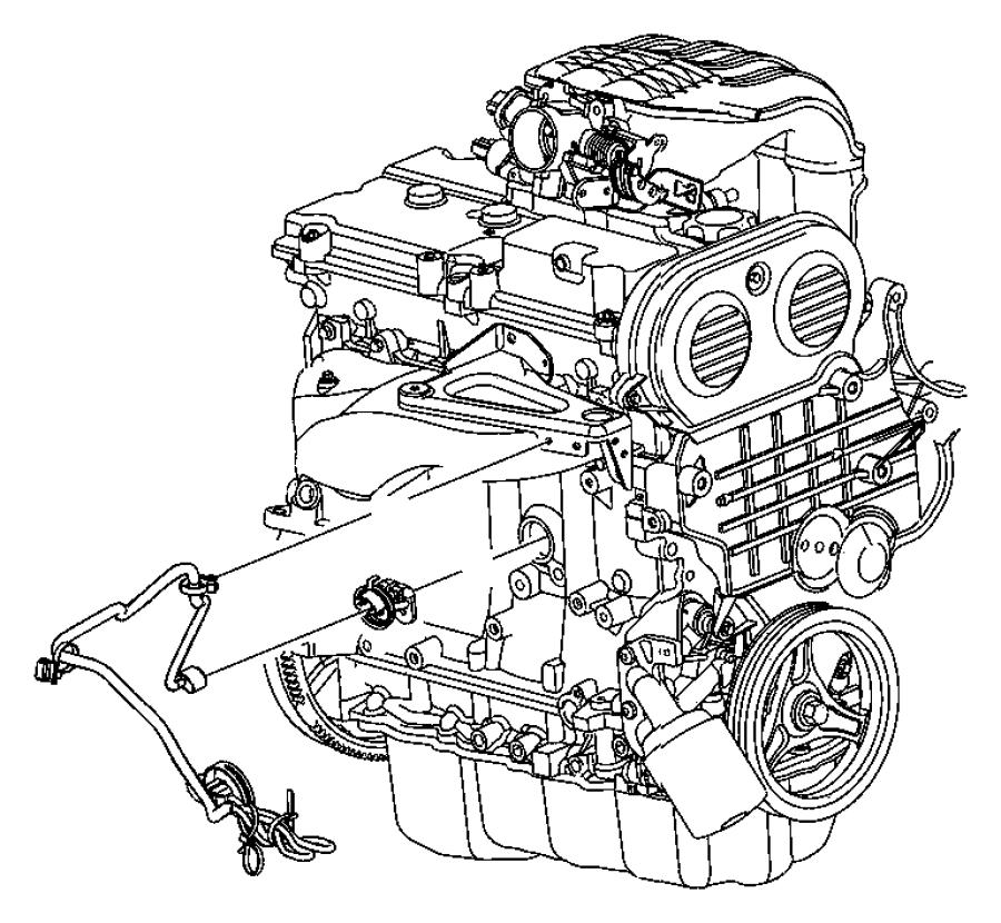 Dodge Nitro Cord. Engine block heater. 3.7l engine