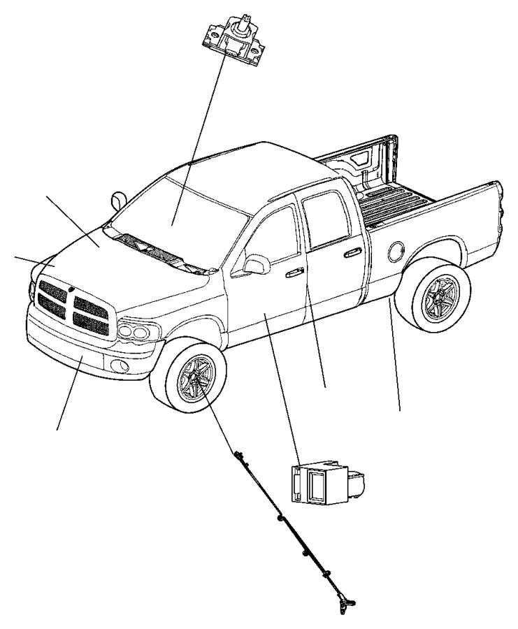 2006 Dodge Ram 1500 SLT QUAD CAB 5.7L Hemi V8 A/T 4X2