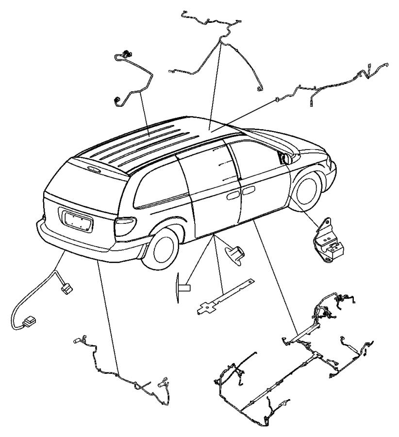 Dodge Grand Caravan Wiring. Unified body. [air