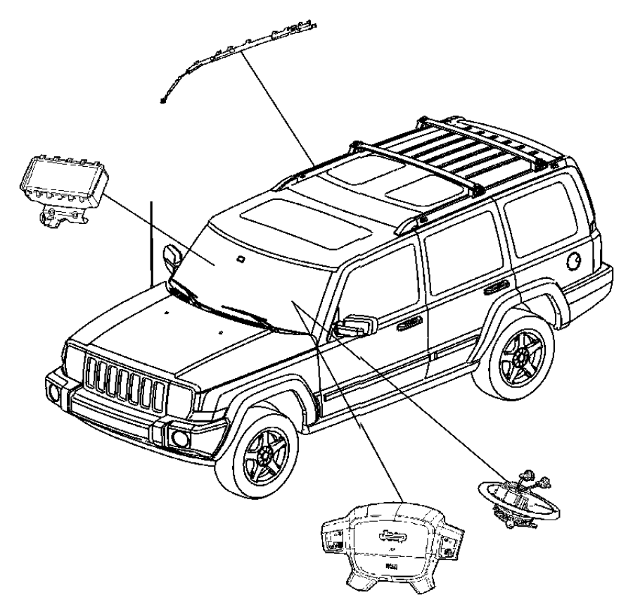 Jeep Grand Cherokee Module. Steering control