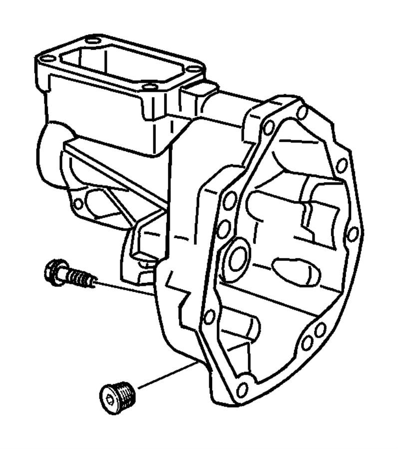 Dodge Ram 3500 Plate. Transmission shifter. Front shifter