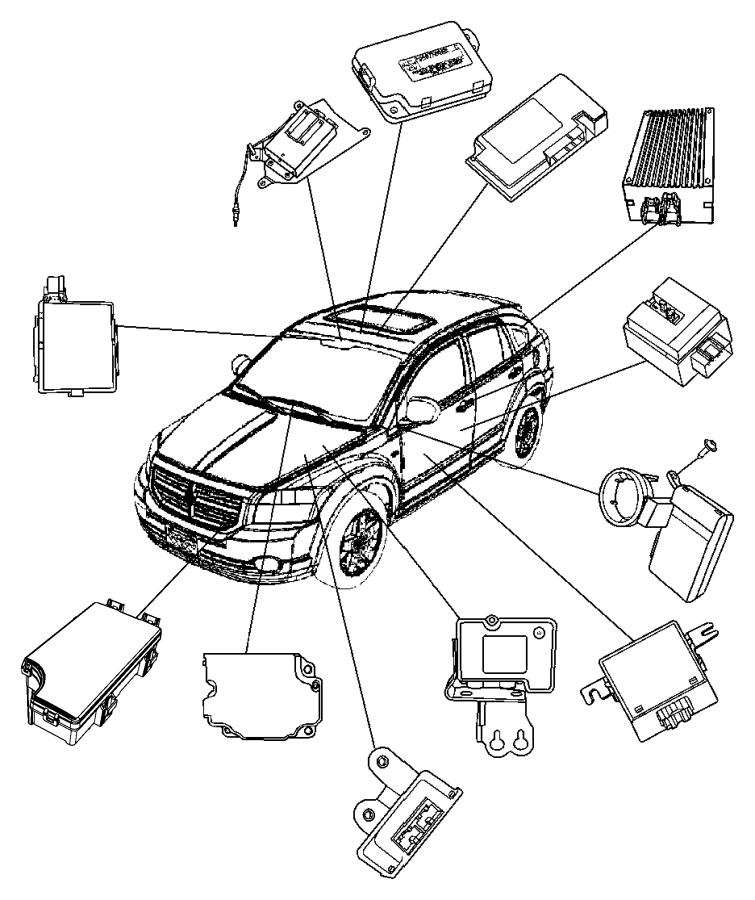 2014 Jeep Patriot Modules Instrument Panel.