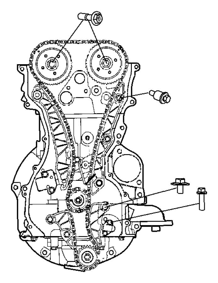 2009 Dodge Caliber Timing System 2.0L [2.0L 4 Cyl DOHC 16V