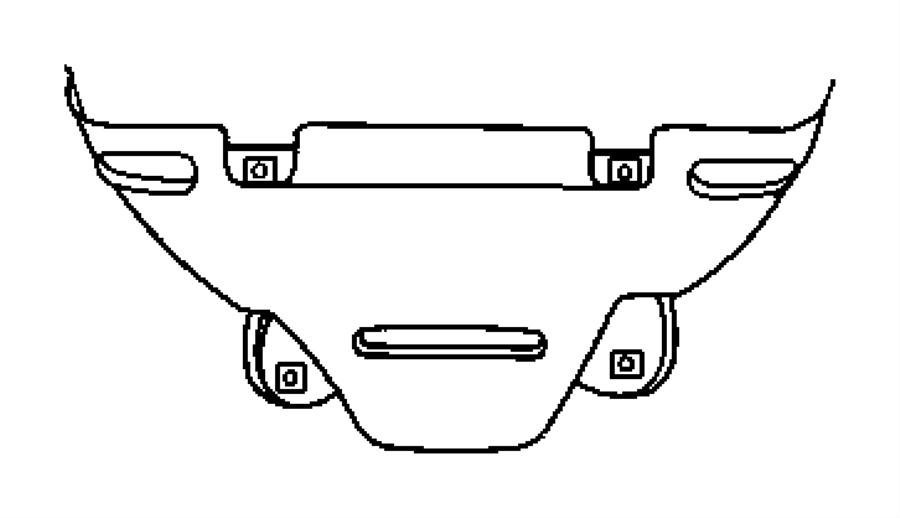 Dodge Avenger Shield. Exhaust manifold, heat. Lower. Fwd