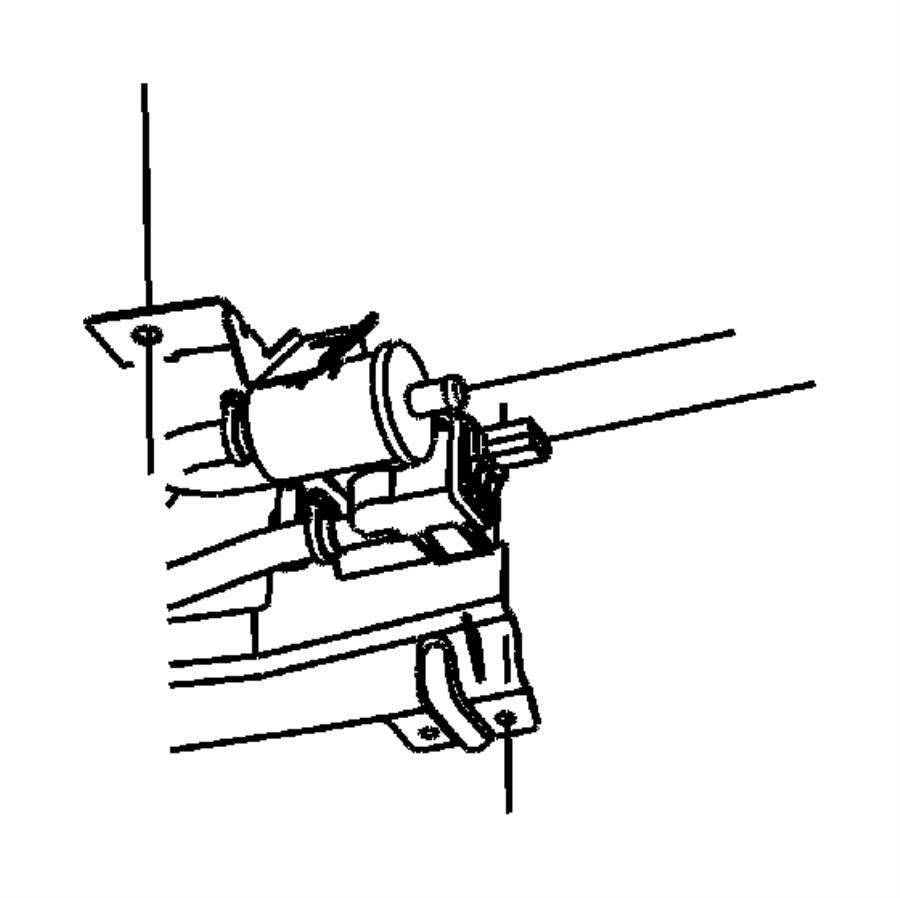 Chrysler Pacifica Bracket. Vapor canister. Eghegq