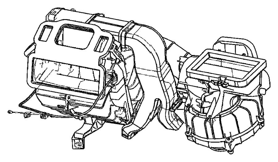 2008 Chrysler Pt Cruiser Cable. Temperature control. [haa