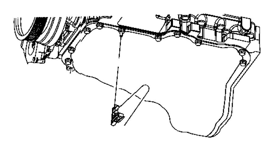 Dodge Challenger Clip. Cooler lines, oil cooler tube