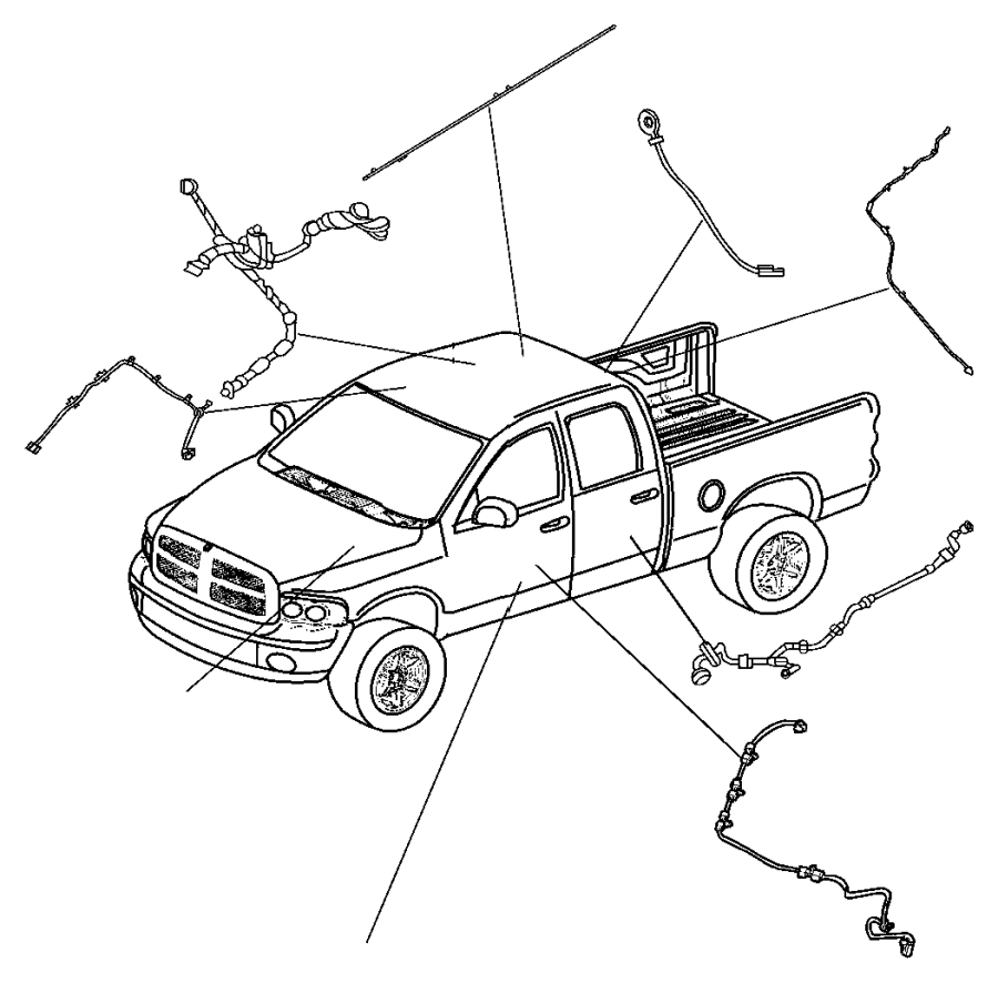 Dodge Ram 5500 Wiring. Electric back light. [rear window