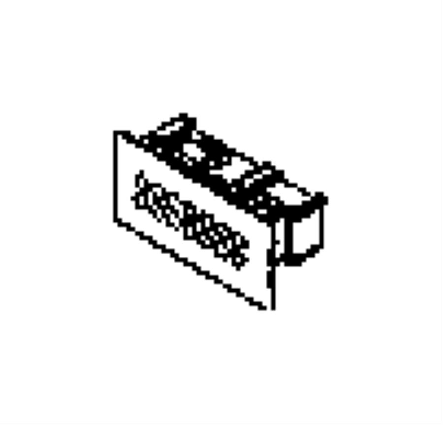 Dodge Ram 1500 Latch. Glovebox door. Trim: [all trim codes