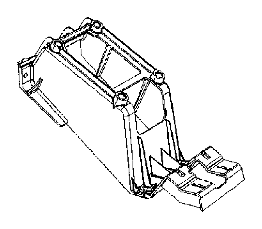Jeep Compass Bracket. Gearshift. Trim: [all trim codes