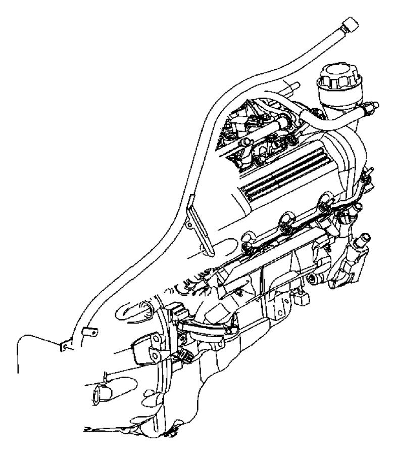 Dodge Ram 1500 Cap. Oil filler. After [04/03/06], cab