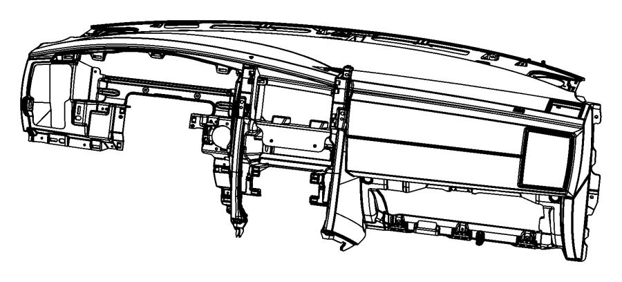 Dodge Charger Bracket. Radio. [sirius satellite radio