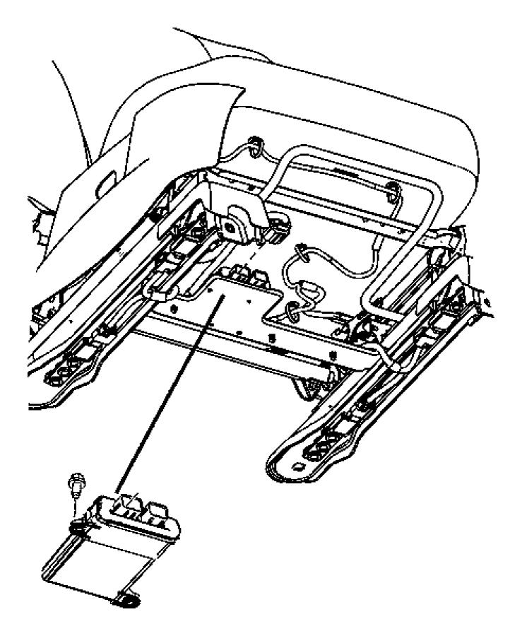 Chrysler 300 Bolt. Ocs to riser. Trim: [performance seats