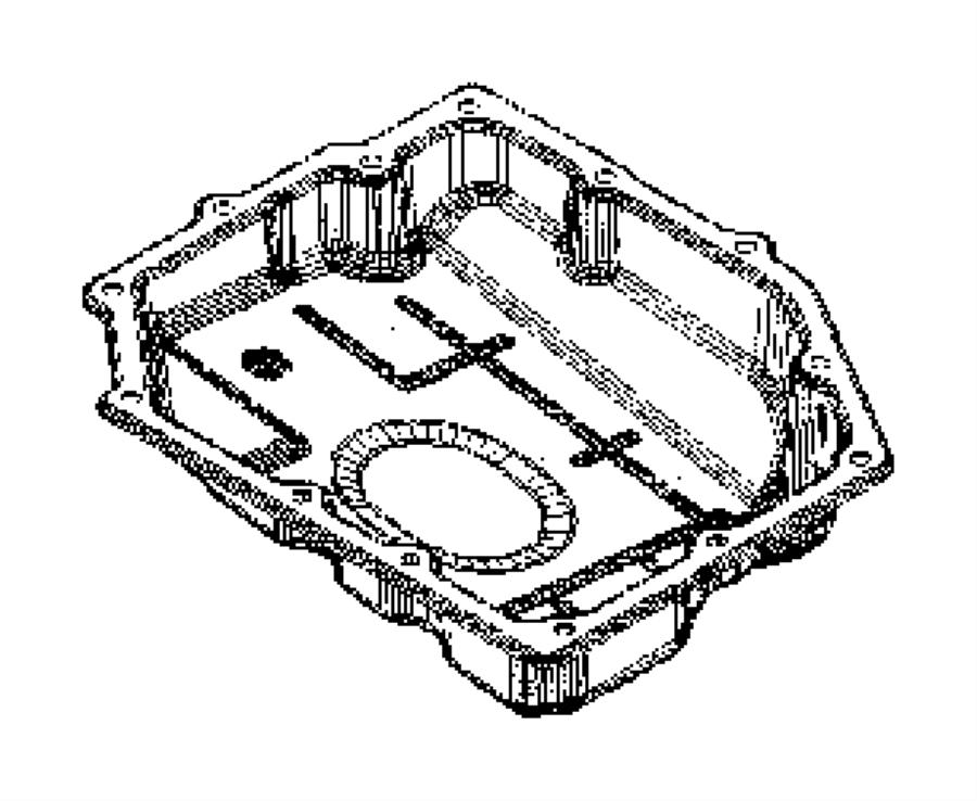 2007 Dodge Nitro Pan. Transmission oil. Filters