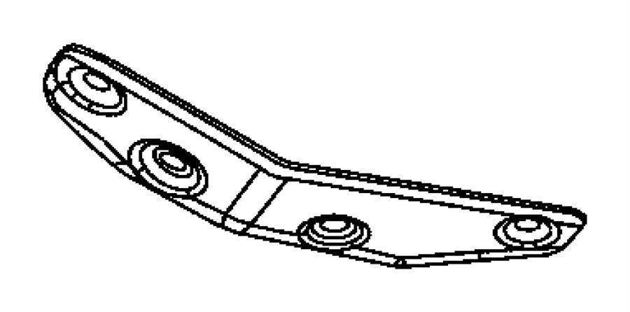 Dodge Durango Shield. Heat. Rear converter shield up to 10