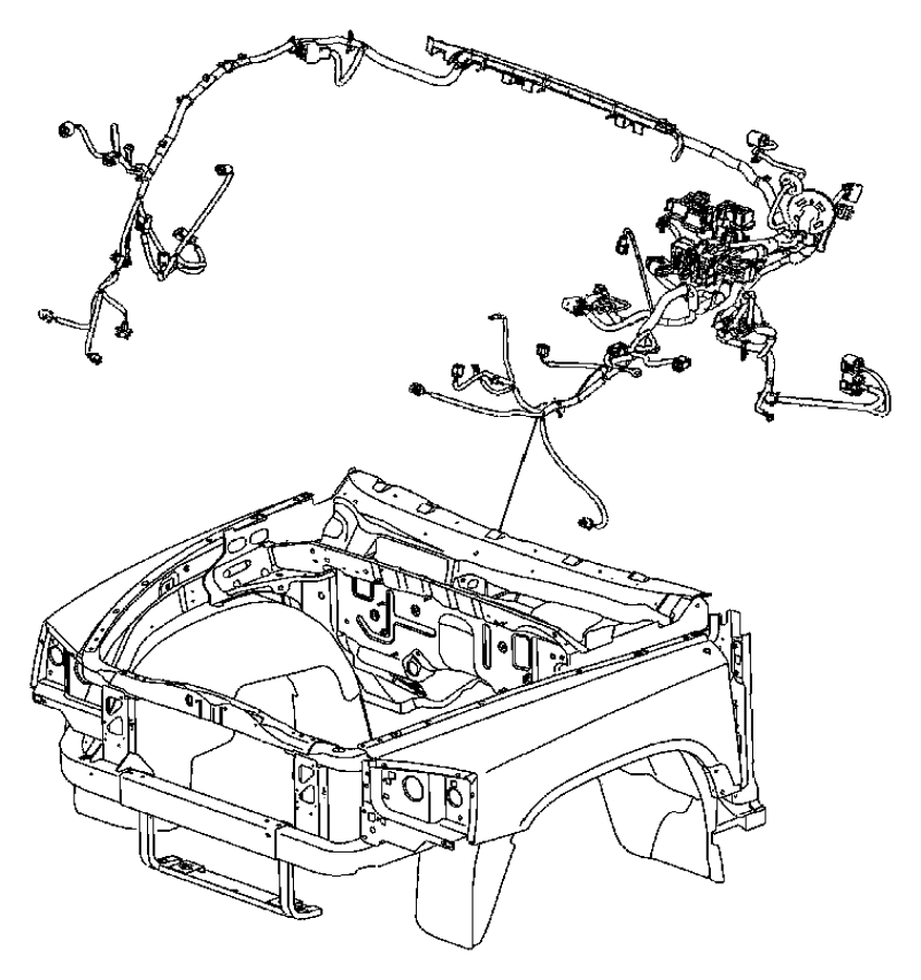 Dodge Dakota Wiring. Headlamp to dash. [[pwr disc/drum rr