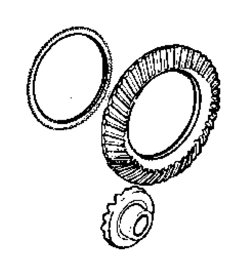 Chrysler 300 Tone ring. Sensor. Ratioelectronic