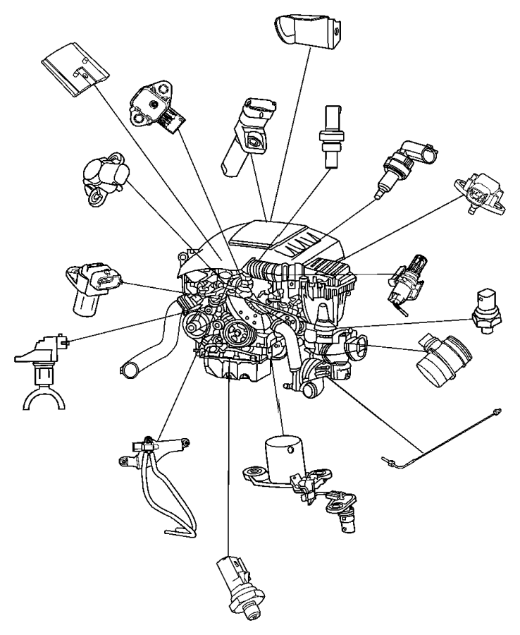 Jeep Grand Cherokee Sensor. Oil pressure. Previous