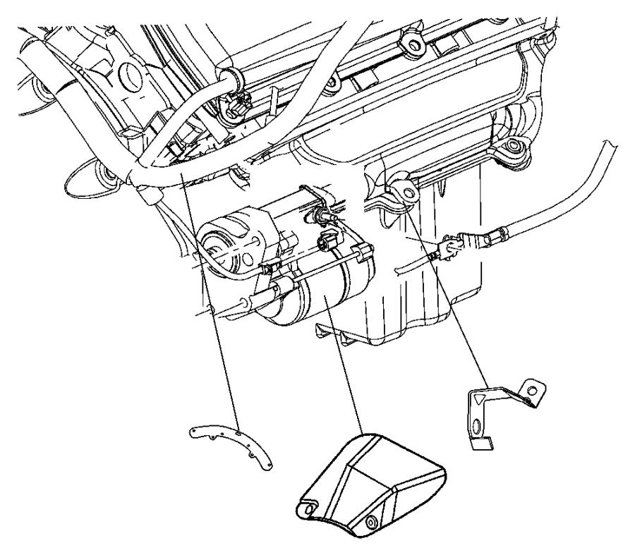 2006 Chrysler 300 Starter [[5.7 5.7L Hemi Multi