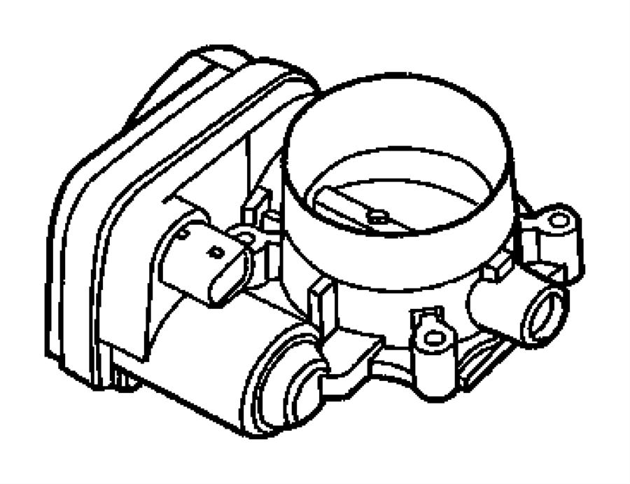 Jeep Grand Cherokee Throttle body. Service manual name