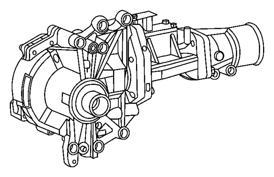 2007 Jeep Compass Power transfer unit. Woffrd, crawl