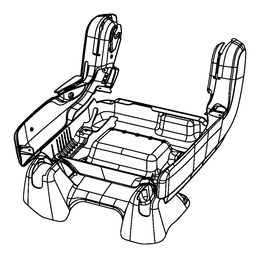 Chrysler Pacifica Shield. Recliner, seat adjuster. Driver