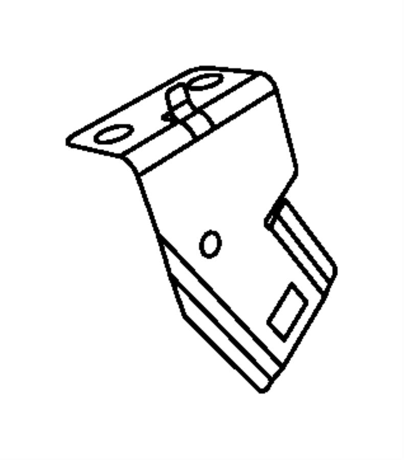 Dodge Ram 1500 Bracket. Connector. In line connectors