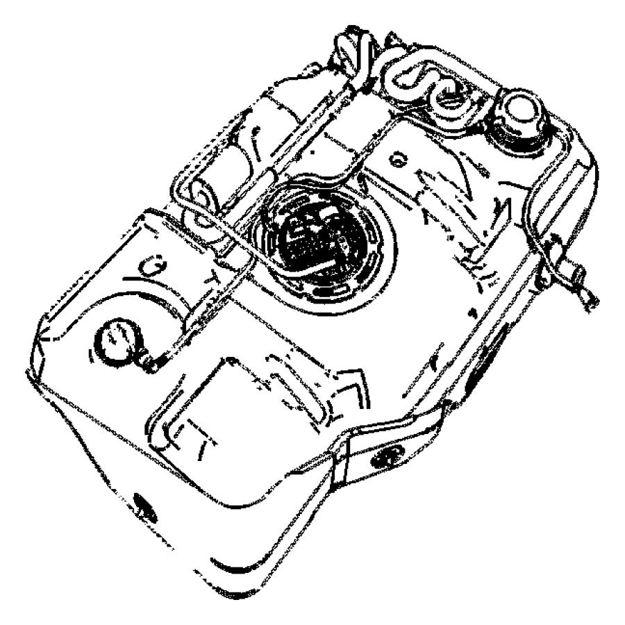 2008 Chrysler Pt Cruiser Filter. Leak detection pump