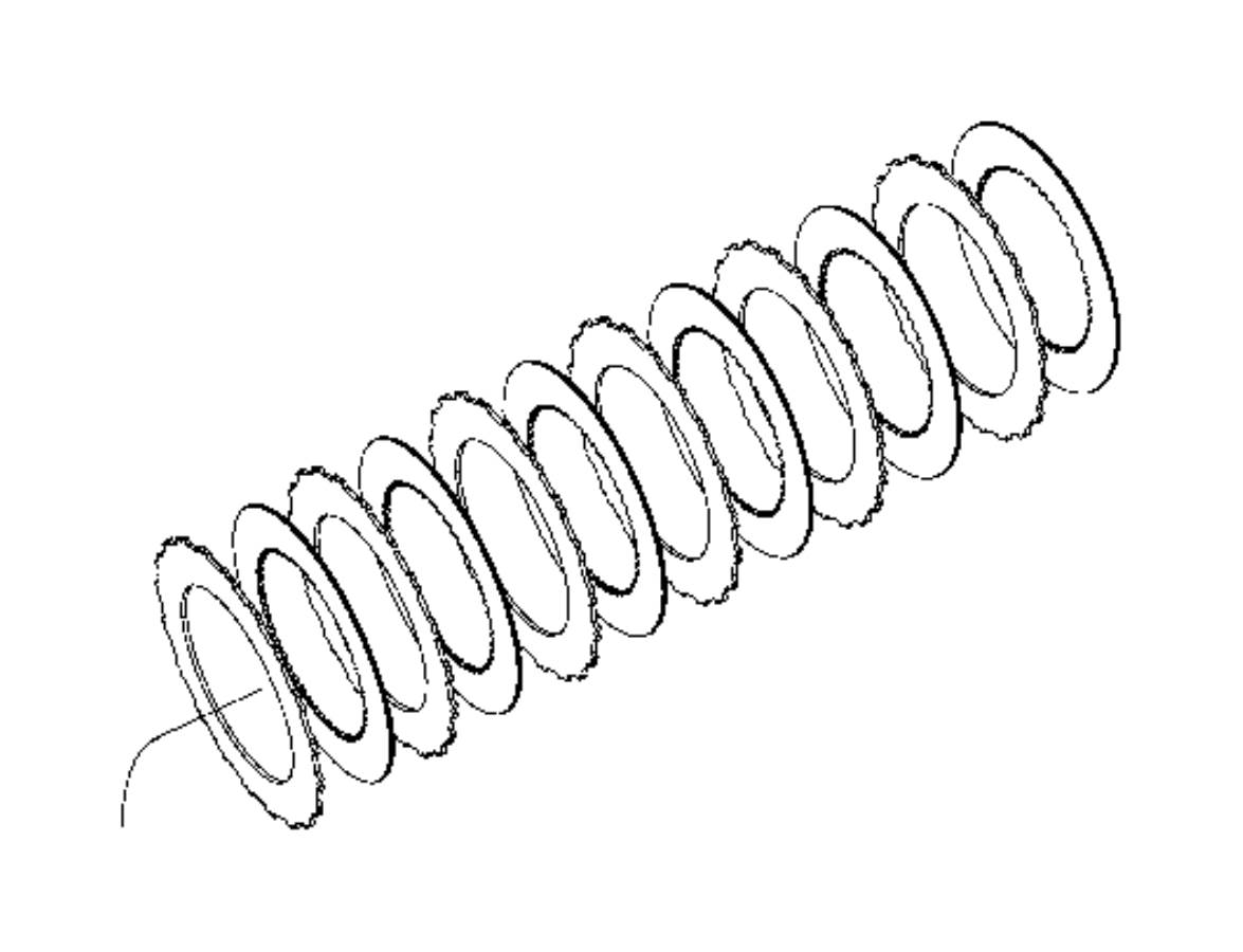 Dodge Ram Plate Clutch Separator