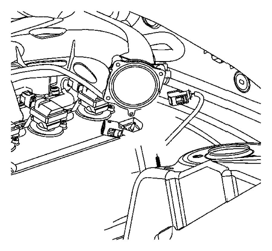 Chrysler 300 Strap. Engine. Ground. Engine, radio ground