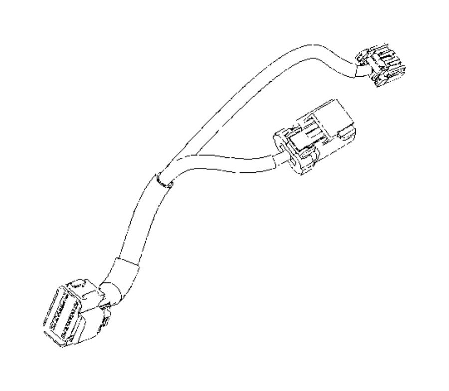 Dodge Journey Harness. Wiring. Trim: [all trim codes