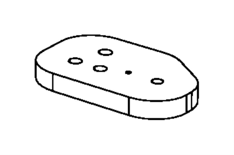 Chrysler Aspen Packing, seal. Blower motor, evaporator