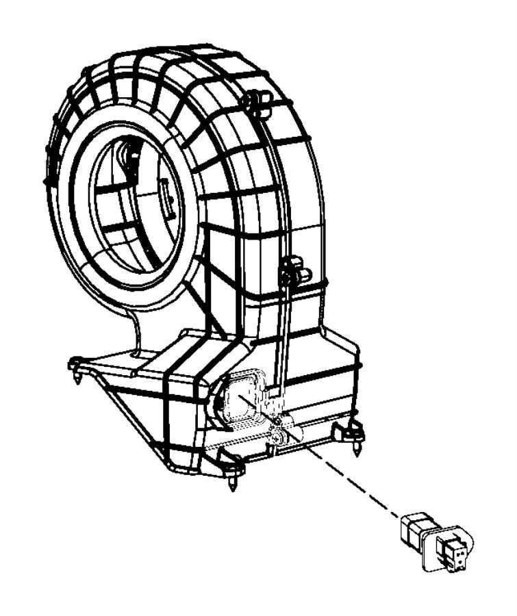 2001 Dodge Resistor. Blower motor. After 1-3-08, up to 1-3