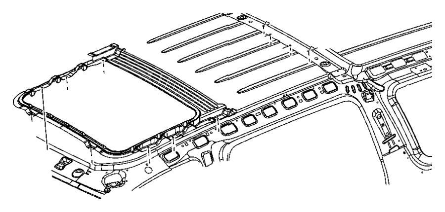 Chrysler Aspen Trim lace. Sunroof. Trim: [all trim codes