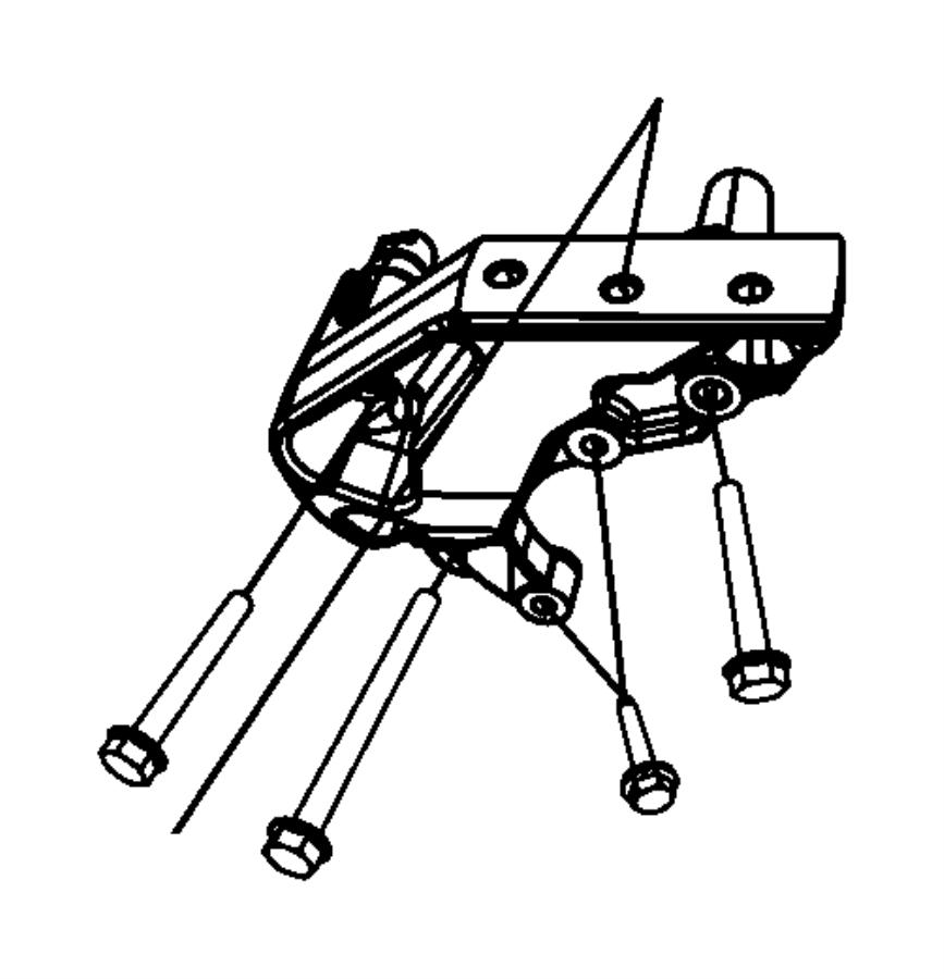 Jeep Wrangler Bolt. Hex flange head. M10x1.50x130.00