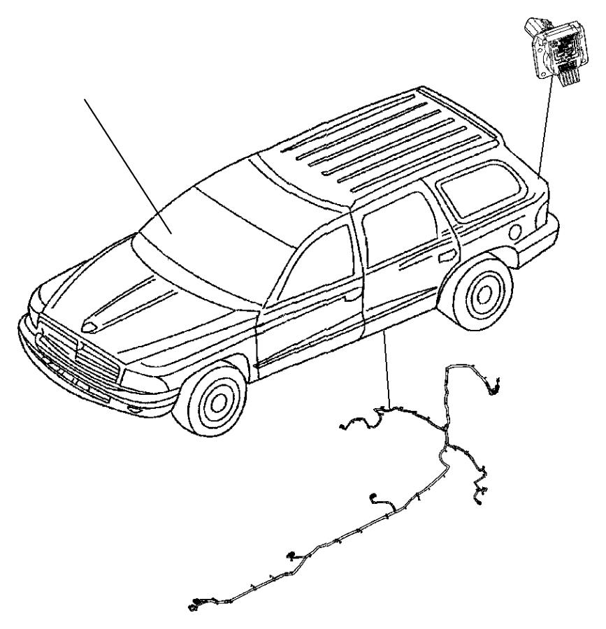 Dodge Durango Wiring. Chassis. [hybrid electric vehicle