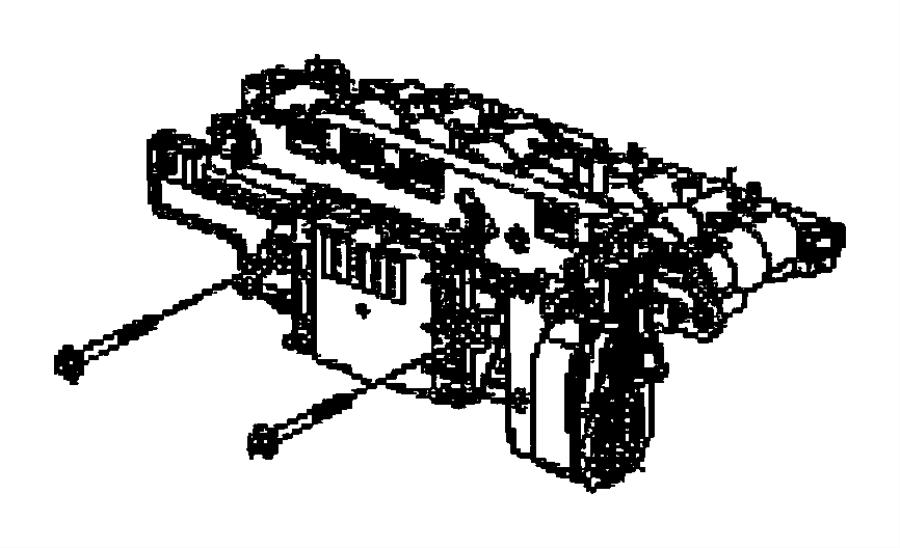 Dodge Durango Module. Transmission electric hydraulic