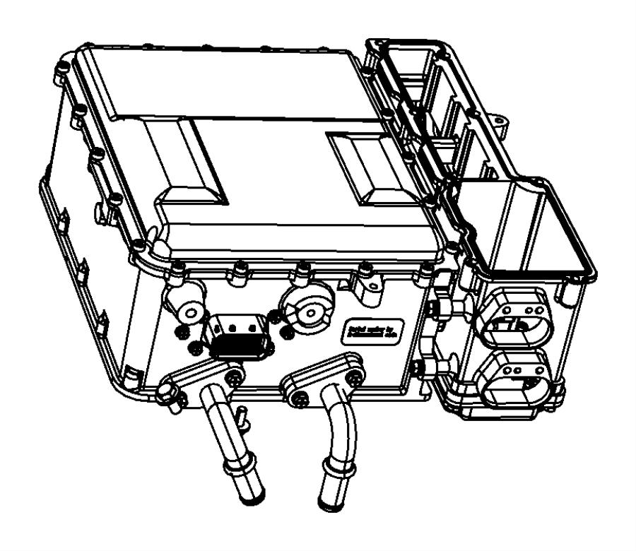 Chrysler Aspen Module. Traction power inverter. Invertor